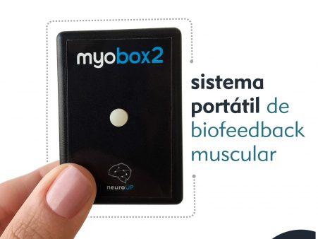 Myobox 2: Biofeedback muscular portátil