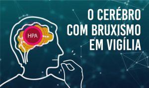 O cérebro com bruxismo em vigília – Estresse