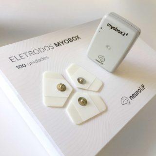 Pacote com 100 Eletrodos para Myobox