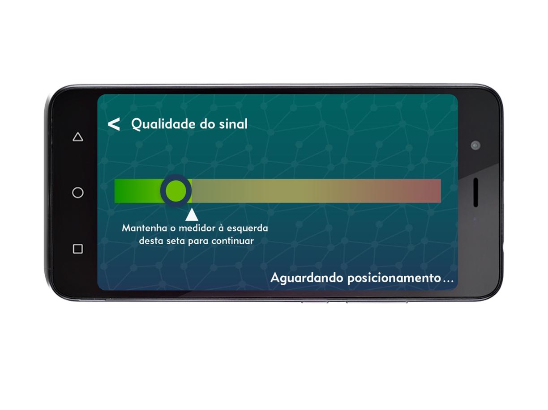 app neuroup - qualidade do sinal