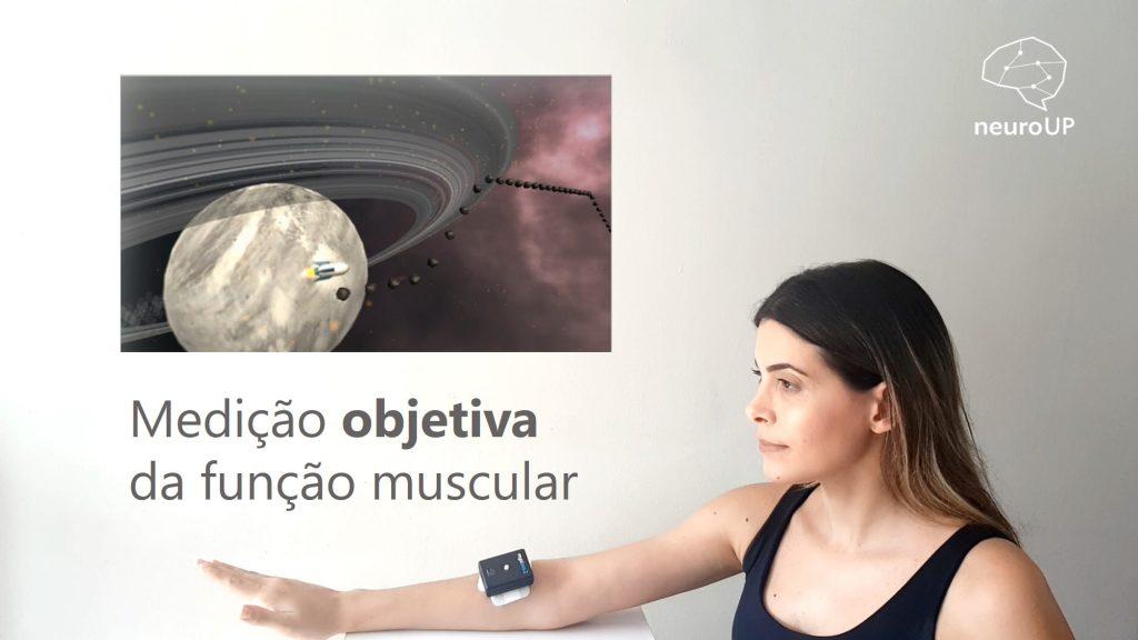 Banner medição objetiva da função muscular