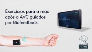 Exercícios de Biofeedback para a mão e os dedos após o AVC