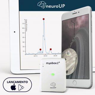 neuroUP PRO | Biofeedback muscular com o software PRO anual | iOS e Android