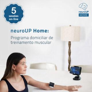neuroUP Home Premium   Tecnologia para o treinamento muscular em casa   Combo com 5 sessões online
