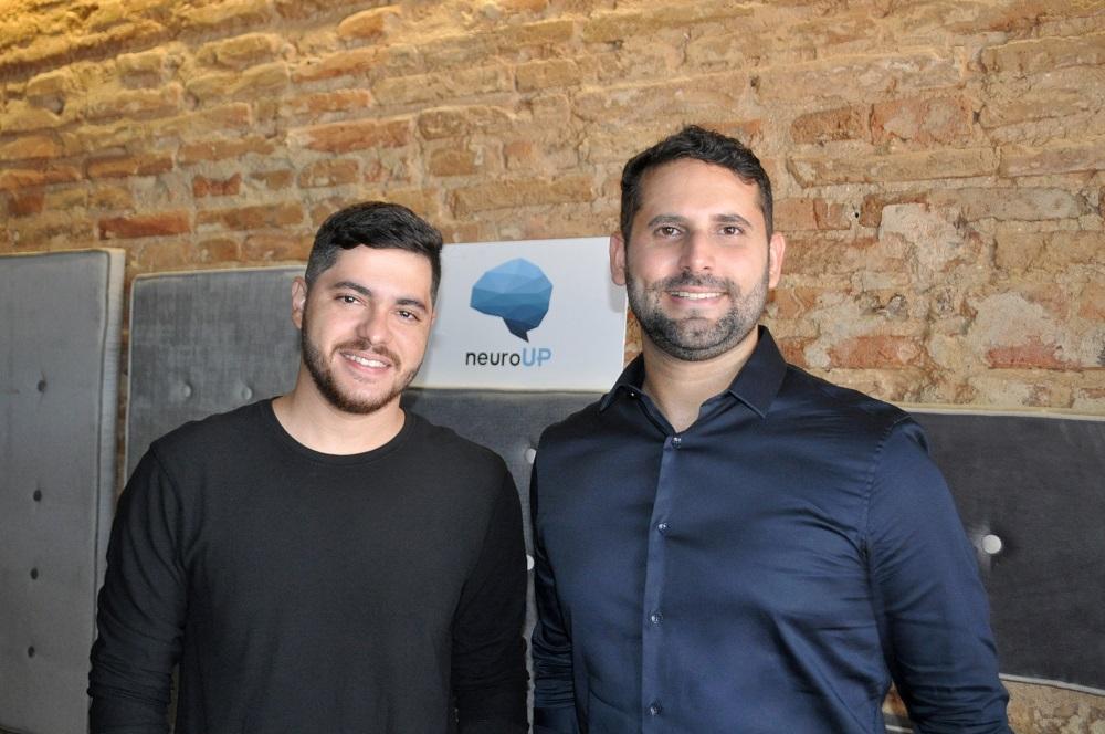 Sócios fundadores da NeuroUp, startup pernambucana – Divulgação
