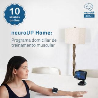 neuroUP Home Premium   Tecnologia para o treinamento muscular em casa   Combo com 10 sessões online