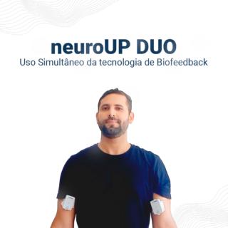 neuroUP DUO | Biofeedback muscular profissional (Uso Simultâneo)