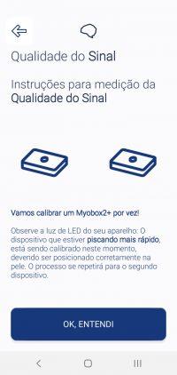 12.3 Aviso sobre identificação do Myobox que será calibrado
