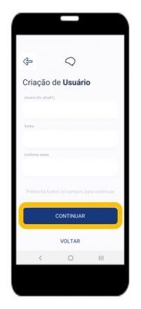 5.3 Defina um usuário e senha para sua conta