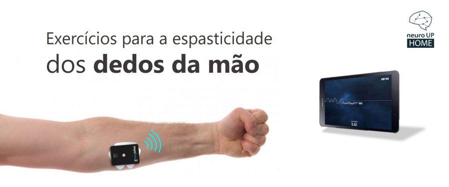 Abertura dos dedos da mão - espasticidade - AVC - fisioterapia - biofeedback